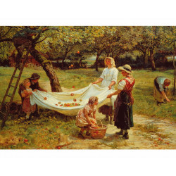 The Apple Gatherers Wooden Puzzle - Frederick Morgan (40)