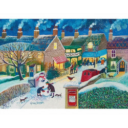 Christmas Post Wooden Puzzle - Lisa Graa Jensen (40)