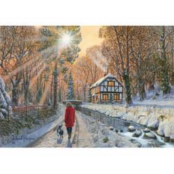 Winter Woodland Wooden Puzzle - Richard Harpum (40)