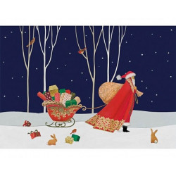 Santa's Big Night Wooden Puzzle - Sue Waddicor (500)