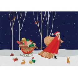 Santa's Big Night Wooden Puzzle - Sue Waddicor (500)