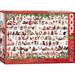 Holiday Dogs Puzzle (christmas) (1000)