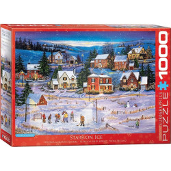 Stars on Ice Puzzle - Patricia Bourque (christmas) (1000)