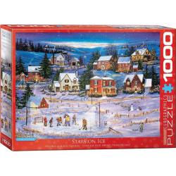 Stars on Ice puzzel - Patricia Bourque (kerstmis) (1000)