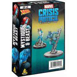 Marvel: Crisis Protocol – Beast & Mystique