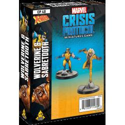 Marvel: Crisis Protocol – Wolverine & Sabertooth