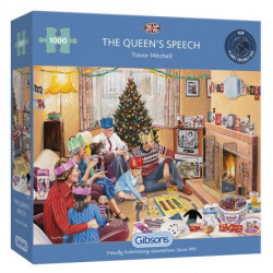 The Queen's Speech puzzle (1000)