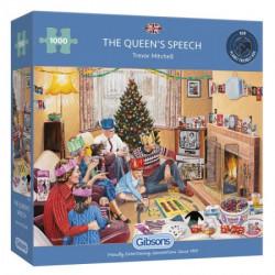 The Queen's Speech puzzel (1000)