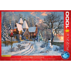 Christmas Cottage puzzle - Dominic Davison (christmas) (1000)