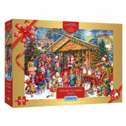 This Way to Santa - Christmas puzzle (1000)