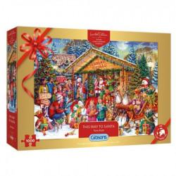 This Way to Santa - Kerstpuzzel (1000)