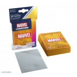 Sleeves: Marvel Champions Art Sleeves: Marvel Orange (50+1)