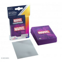 Sleeves: Marvel Champions Art Sleeves: Marvel Purple (50+1)