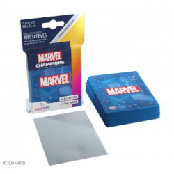 Sleeves: Marvel Champions Art Sleeves: Marvel Blue (50+1)