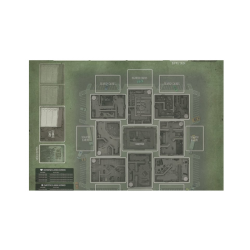 Tiny Epic: Zombies Game Mat