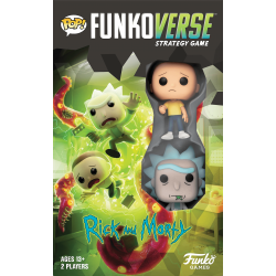 Funkoverse Strategy Game: Rick & Morty 100