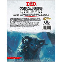 Dungeons and Dragons RPG: Icewind Dale: Rime of The Frostmaiden DM...