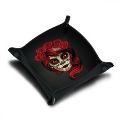 Dice Tray: Calavera Girl