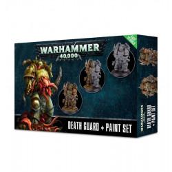 Warhammer 40k - Death Guard + Paint Set
