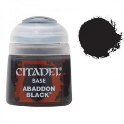 Citadel Base Abadon Black