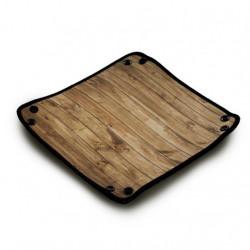 Dice Tray: Wood Texture
