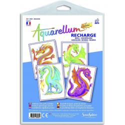 Aquarellum Junior Refill Set: Dragon