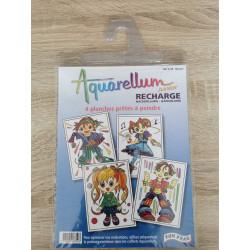 Aquarellum Junior Refill Set: Manga