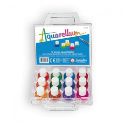 Aquarellum 12 Verfpotjes