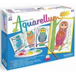 Aquarellum Junior: Owl