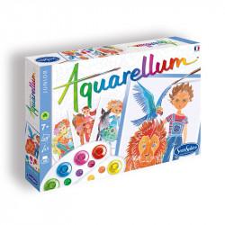 Aquarellum Junior: Child and animal