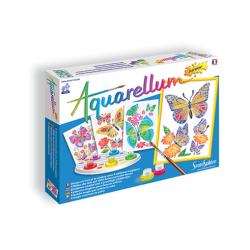 Aquarellum Junior: Vlinders en bloemen