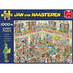 Jan van Haasteren - La bibliothèque
