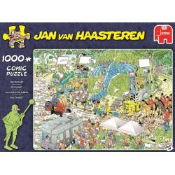 Jan van Haasteren - La plateau de cinéma