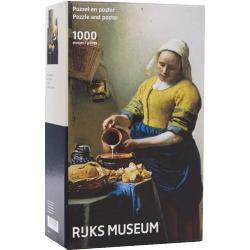 Rijks Museum Puzzel - Het Melkmeisje