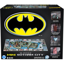 4D Cityscape - Mini Batman Gotham City