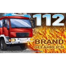 112: Brandgefährlich