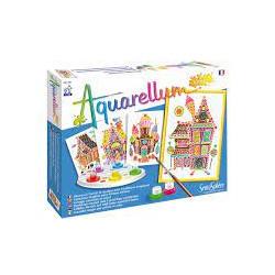 Aquarellum Junior:  Süßigkeitenhaus