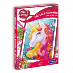 Art & Creation - Diamond Painting - Unicorn