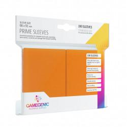 Prime Sleeves - Orange - 63.50x88mm (100)
