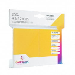 Prime sleeves - Yellow - 63.50x88mm (100)