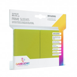 Prime sleeves - Lime - 63.50x88mm (100)