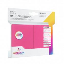 Matte Prime sleeves - Pink - 63.50x88mm (100)
