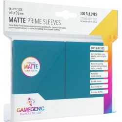 Matte Prime sleeves - Blauw - 63.50x88mm (100)