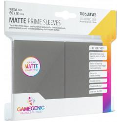 Matte Prime sleeves - Grey - 63.50x88mm (100)