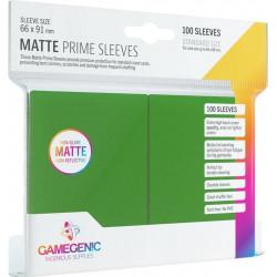 Matte Prime sleeves - Groen - 63.50x88mm (100)