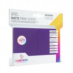 Matte Prime sleeves - Purple - 63.50x88mm (100)