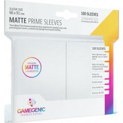 Matte Prime sleeves - White - 63.50x88mm (100)