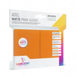 Matte Prime sleeves - Orange - 63.50x88mm (100)