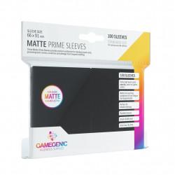 Matte Prime sleeves - Black - 63.50x88mm (100)