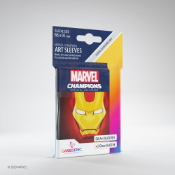 Sleeves: Marvel Champion Art Sleeves: Iron Man (50+1)